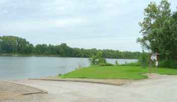 Bonnots Mill public boat ramp