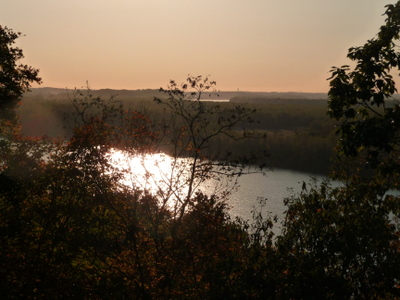 Sunset over the Osage River